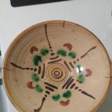 Antigüedades: TERUEL, ANTIGUO CUENCO LEBRILLO SIGLO XIX. Lote 155745802