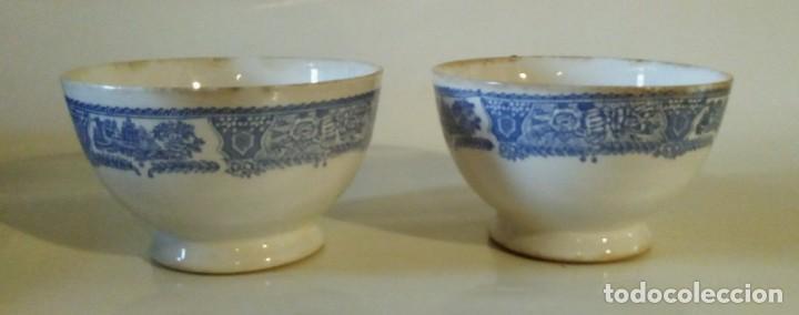 DOS TAZONES DE VARGAS SEGOVIA (Antigüedades - Porcelanas y Cerámicas - Otras)