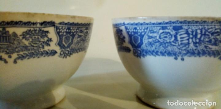 Antigüedades: DOS TAZONES DE VARGAS SEGOVIA - Foto 5 - 155751842
