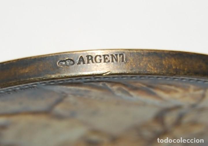 Antigüedades: MEDALLA DE PLATA MACIZA DEL SENAT DE FRANCIA DEL AÑO 1882.PIEZA DE LUJO. - Foto 6 - 155754398
