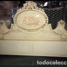 Antigüedades: CABECERA DE CAMA ANTIGUA. Lote 155769490