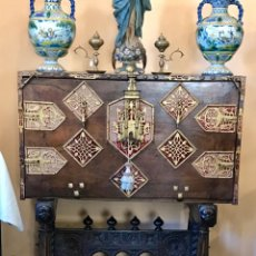 Antigüedades: BARGUEÑO CASTELLANO MODELO SIGLO XVII. Lote 155775926