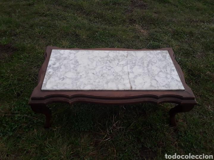 Antigüedades: Mesa de salon marmol - Foto 3 - 155780882