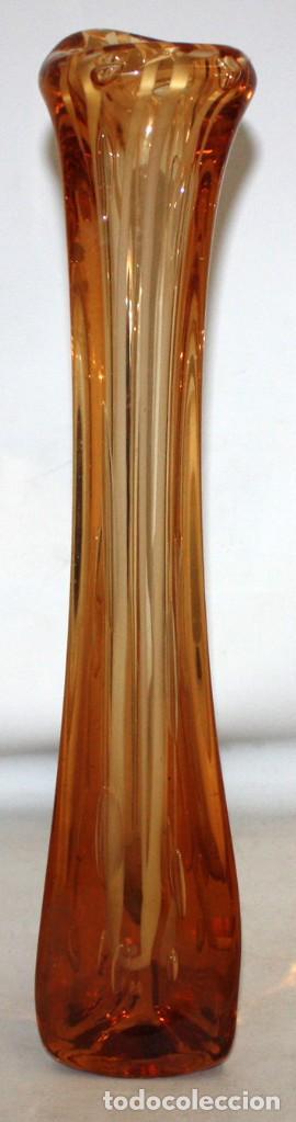 GRAN JARRON EN VIDRIO DE MURANO DE MEDIADOS DEL SIGLO XX (Antigüedades - Cristal y Vidrio - Murano)