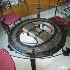 Antiquitäten - mesa rueda de carro - 155785130