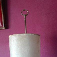 Antigüedades: ANTIGUA LAMPARA DE BRONCE. Lote 155804058