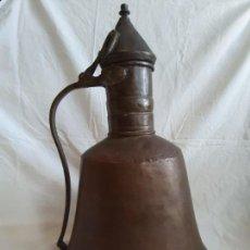 Antigüedades: INTERESANTE JARRA DE COBRE ORIGEN TURQUIA. Lote 155812958
