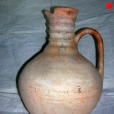 Antigüedades: CANTARILLA O JARRA PARA ACEITE DE MOVEROS, MUY ANTIGUA. Lote 155817594