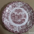 Antigüedades: BANDEJA DE PORCELANA,PICKMAN LA CARTUJA DE SEVILLA. Lote 155844854