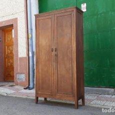 Antigüedades: ARMARIO ANTIGUO DE DESPACHO. TAQUILLA ANTIGUA DE FÁBRICA 1920. MUEBLE ESTILO INDUSTRIAL.. Lote 155849286