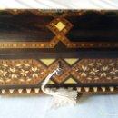 Antigüedades: PEQUEÑA ARCA ANTIGUA DE TARACEA DE GRANADA. Lote 155863318
