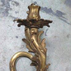 Antigüedades: ANTIGUO APLIQUE DE BRONCE DORADO. ESTILO LUIS XV. Lote 155923506