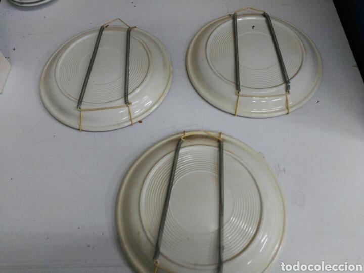 Antigüedades: Platos decorativos porcelana inglesa - Foto 5 - 155923648