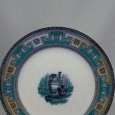 Antigüedades: ANTIGUO PLATO VICTORIANO MODELO ETRUSCO S XIX. Lote 155924264