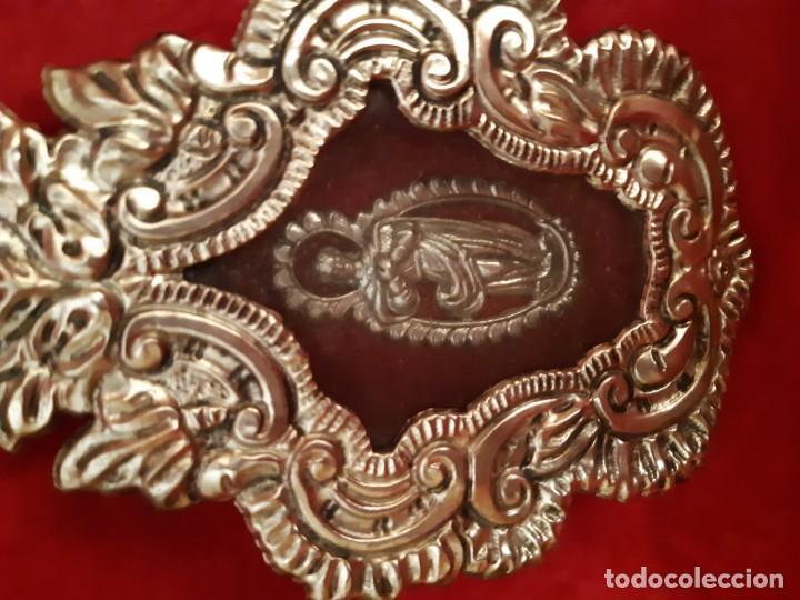 Antigüedades: Antiguo relicario de orfebreria - Foto 4 - 155935826