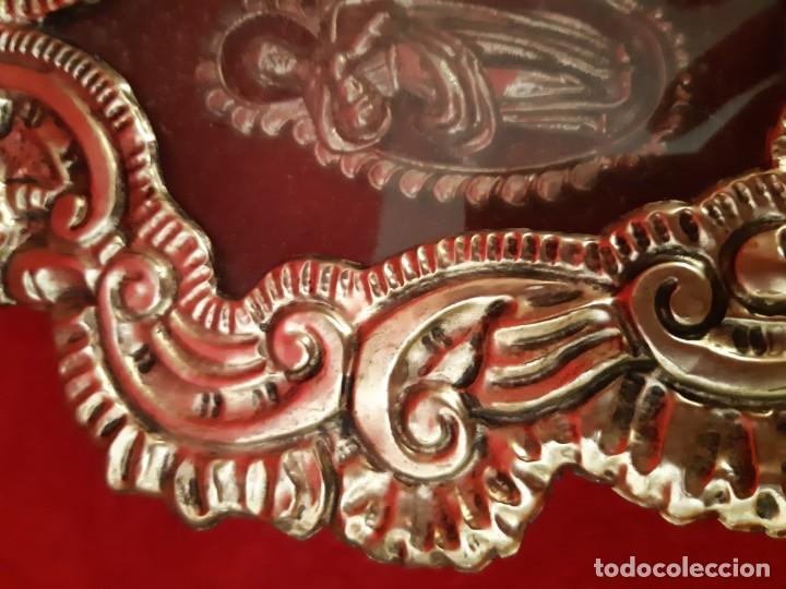 Antigüedades: Antiguo relicario de orfebreria - Foto 9 - 155935826