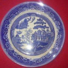 Antigüedades: PRECIOSO Y ANTIGUO PLATO MOTIVOS CHINESCOS WEDGWOOD & CO S.XIX. Lote 155944918
