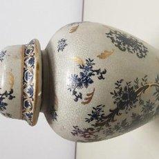 Antigüedades: J- JARRON-TIBOR CHINO CON SELLO MADE IN CHINA 32 CMS ALTURA. Lote 155969766
