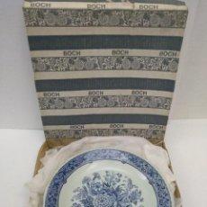 Antigüedades: PLATO EN CERÁMICA PARA COLGAR DELFTS BY BOCH . Lote 155989074