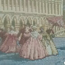 Antigüedades - Pequeño tapiz enmarcado - 155990153