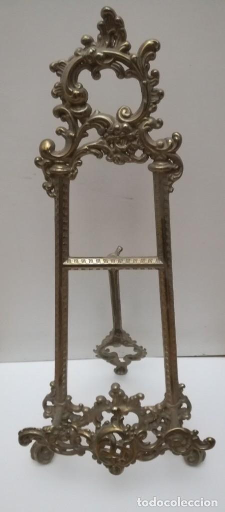 Antigüedades: Atril bronce 40 cm - Foto 2 - 156011742