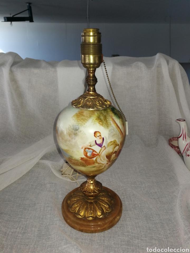 LÁMPARA DE MESA SUIMA (Antigüedades - Iluminación - Lámparas Antiguas)