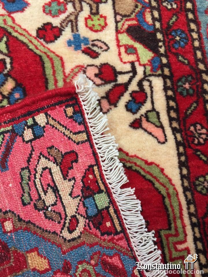 Antigüedades: Especial alfombra Wahire Nahavand del norte de Persia - Foto 4 - 156067774