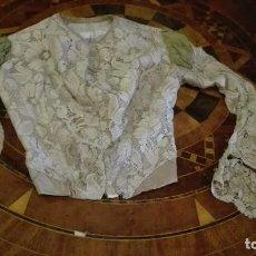 Antigüedades: CHAQUETA SIGLO 19 O PARTE DE ARRIBA DE UN VESTIDO. Lote 156068854