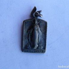 Antigüedades: MEDALLA PLATA RELIGIOSA PURISIMA CONCEPCIÓN. Lote 156080866