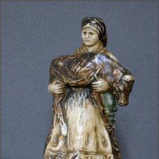 Antigüedades: O TESOURO PONTECESURES ASOREY CERÁMICA GALICIA PONTEVEDRA COLOR BARRO CON MARCA. Lote 156173086