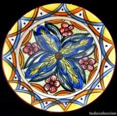 Antigüedades: GRAN PLATO DE CERAMICA ANTIGUO,. Lote 156275818