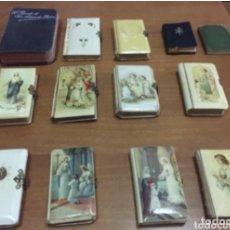 Antigüedades: COLECCION LIBROS COMUNION DESDE AÑO 1926 , 1930. Lote 156449490