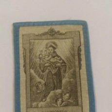 Antigüedades: ANTIGUO FRONTAL ESCAPULARIO SAN ANTONIO. 8 X 5,50 CM. Lote 156470090