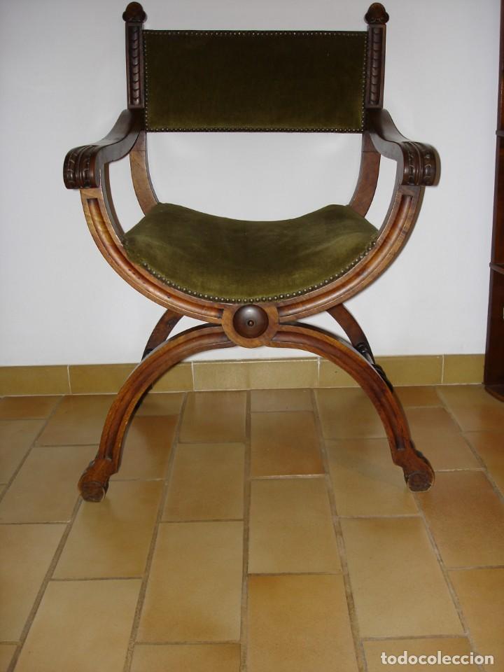 PAREJA DE PRECIOSOS SILLONES JAMUGA FINAL SIXX, MALLORCA (Antigüedades - Muebles Antiguos - Sillones Antiguos)