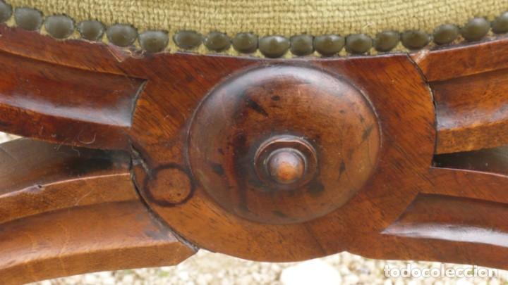 Antigüedades: Pareja de preciosos sillones jamuga final sIXX, Mallorca - Foto 2 - 156477346