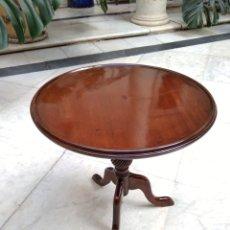 Antigüedades: MESA CAOBA SIGLO XIX. Lote 156486417