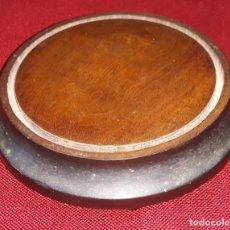 Antiques - PIE DE URNA DE CAOBA SIGLO XIX - 156515202