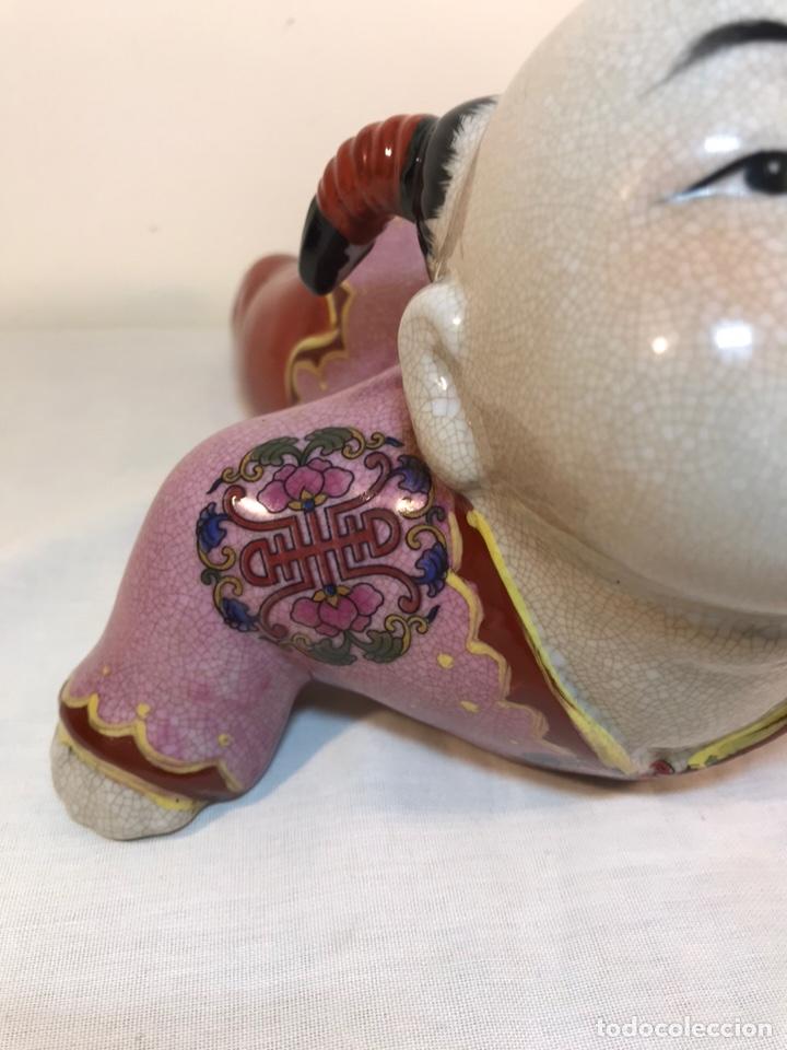 Antigüedades: Figura Porcelana- China- s. XX República - Foto 5 - 156518232