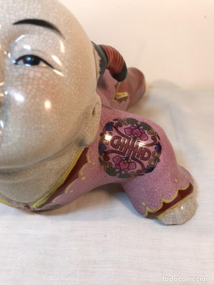 Antigüedades: Figura Porcelana- China- s. XX República - Foto 6 - 156518232