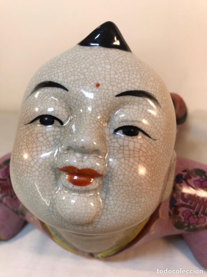 Antigüedades: Figura Porcelana- China- s. XX República - Foto 7 - 156518232