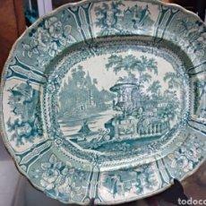 Antigüedades: FUENTE DE SARGADELOS SERIE GONDOLA VERDE. Lote 156527738