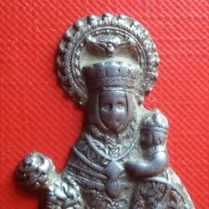 Antigüedades: SILUETA VIRGEN RELIEVE / 25 X 38 MM. Lote 156537744