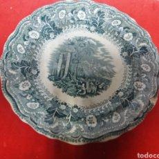 Antigüedades: JULIEN MATTEI CARDIFF BONITO PLATO INGLÉS 27 CM DE DIÁMETRO. Lote 156543070
