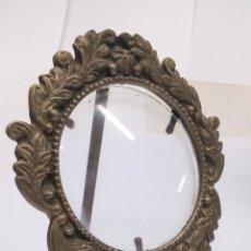 Antigüedades: MARCO DE BRONCE CLASICO. Lote 156544760