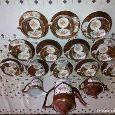 Antigüedades: JUEGO DE CAFÉ CENTENARIO COMPLETO. Lote 156548558
