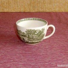 Antigüedades: TAZA DE PORCELANA WEDGWOOD OF ETRURIA Y BARLASTON ENGLAND-LUGANO.. Lote 156557066