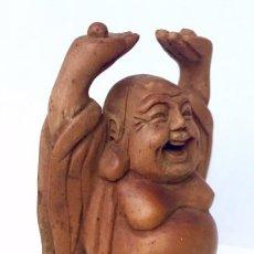 Antigüedades: TALLA CHINA EN MADERA.. Lote 156571810