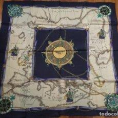 Antiquitäten - PAÑUELO DE SEDA NATURAL - 156585030