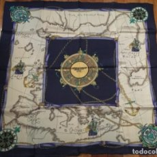 Antigüedades: PAÑUELO DE SEDA NATURAL. Lote 156585030