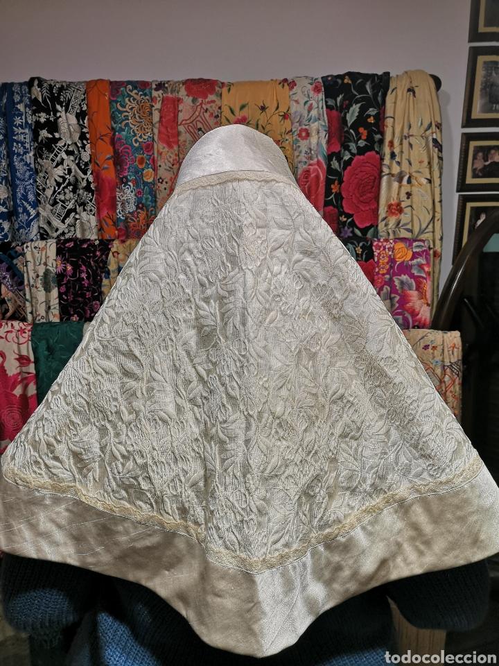 MANTILLA (Antigüedades - Moda - Mantillas)